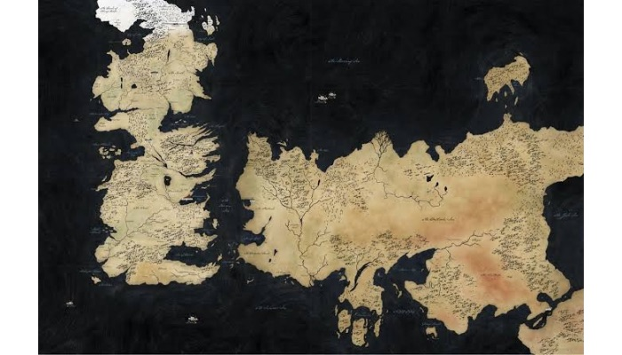 Game of Thrones: Maps of Westeros and seven kingdoms